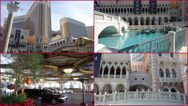 Parte externa do The Venetian!
