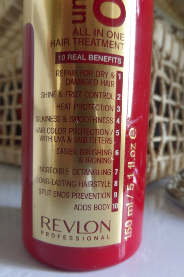 resenha leave-in Uniq One Revlon